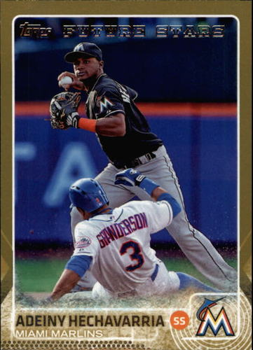 Photo of 2015 Topps Gold #656 Adeiny Hechavarria