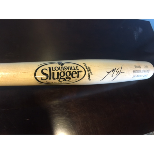 Photo of Giants Community Fund: Madison Bumgarner Personalized Autographed Bat