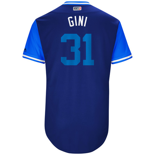 "Photo of Joe ""Genie"" Biagini Toronto Blue Jays Game-Used Players Weekend Jersey"