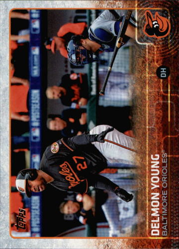 Photo of 2015 Topps #383 Delmon Young