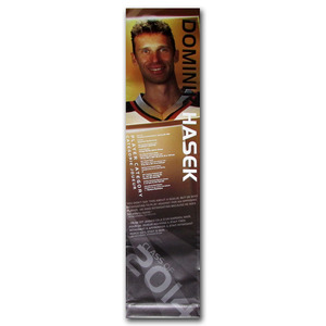 Dominik Hasek Class of 2014 Banner Once on Display at the Hockey Hall of Fame (Buffalo Sabres)