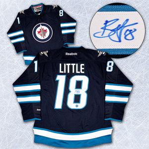 Bryan Little Winnipeg Jets Autographed Reebok Premier Hockey Jersey
