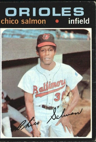 Photo of 1971 Topps #249 Chico Salmon