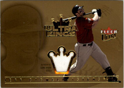 Photo of 2005 Ultra Kings Jersey Gold #JBA Jeff Bagwell RBI