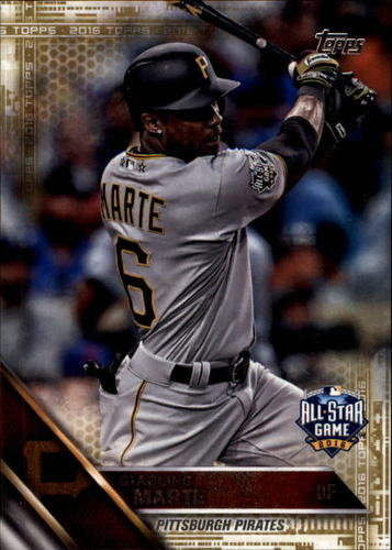 Photo of 2016 Topps Update Gold #US166 Starling Marte AS