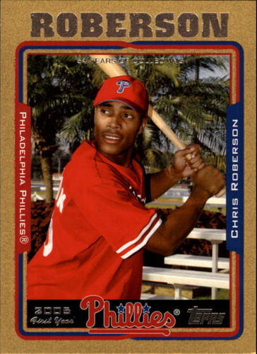Photo of 2005 Topps Gold #312 Chris Roberson FY