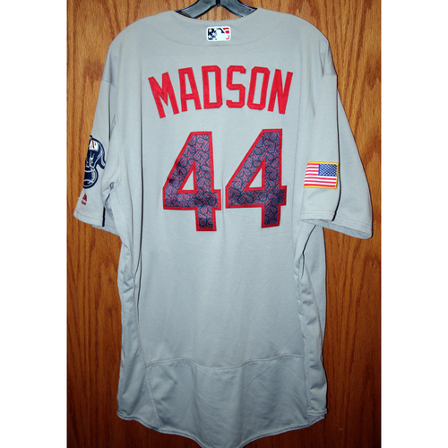 Photo of Ryan Madson Game-Used 2016 July 4th Jersey