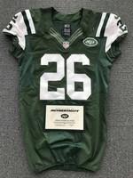 New York Jets - 2013 #26 Dawan Landry Game Worn Jersey