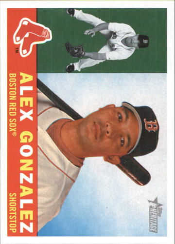 Photo of 2009 Topps Heritage #605 Alex Gonzalez