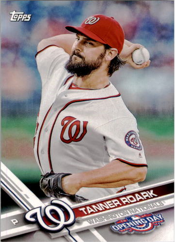 Photo of 2017 Topps Opening Day #177 Tanner Roark