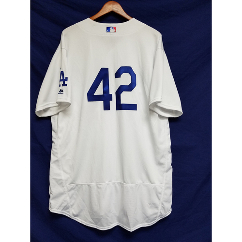 "Photo of Turner Ward Game-Used ""42"" Jersey"