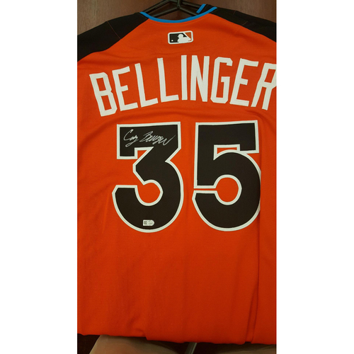 Cody Bellinger 2017 Major League Baseball Workout Day/Home Run Derby Autographed Jersey