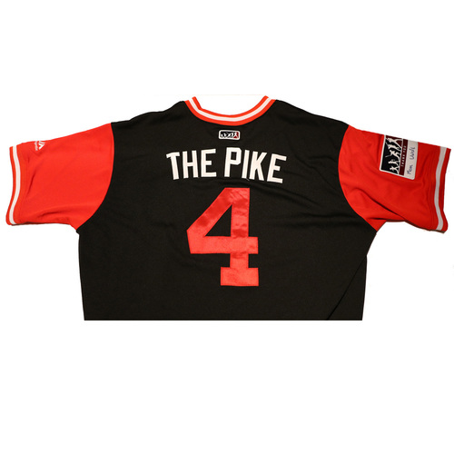 "Photo of Ketel ""The Pike"" Marte Arizona Diamondbacks Game-Used Players Weekend Jersey"