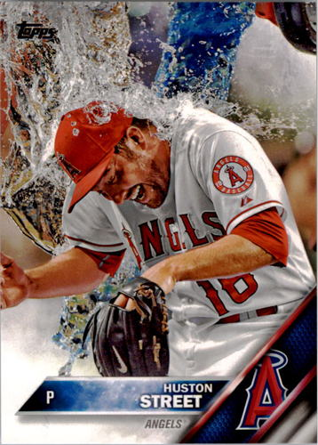 Photo of 2016 Topps #239 Huston Street