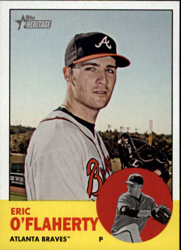 Photo of 2012 Topps Heritage #62 Eric O'Flaherty