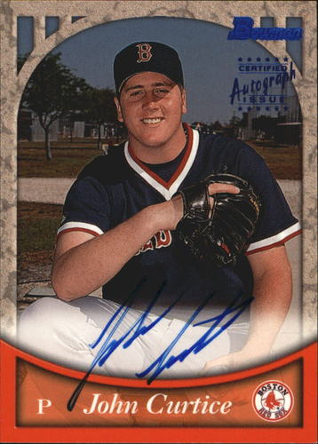 Photo of 1999 Bowman Autographs #BA53 John Curtice B