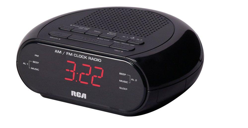 RCA R205 AM/FM Digital Clock Radio