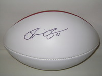 CHARGERS - RONNIE BROWN SIGNED PANEL BALL