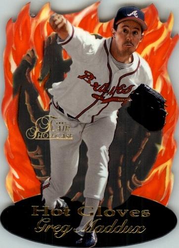 Photo of 1997 Flair Showcase Hot Gloves #10 Greg Maddux