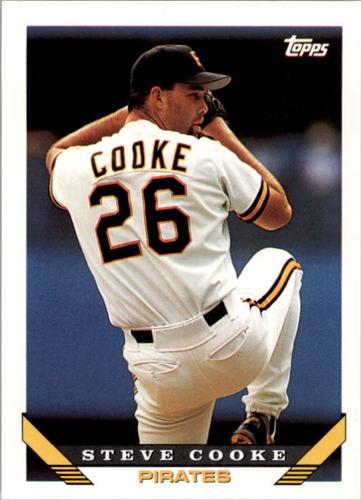 Photo of 1993 Topps #716 Steve Cooke