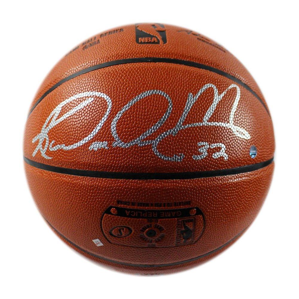 Karl Malone Signed Spalding NBA Indoor/Outdoor Basketball