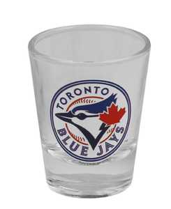 Toronto Blue Jays Clear Shot Glass by Sports Vault