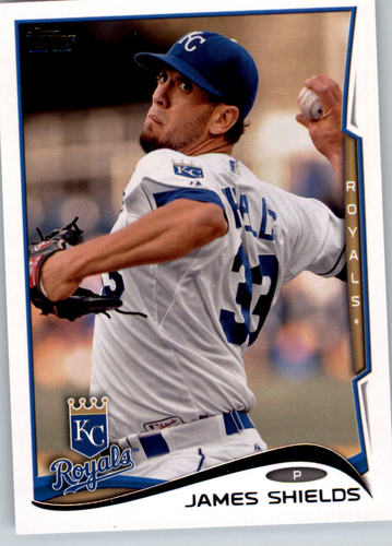 Photo of 2014 Topps #214 James Shields