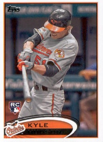 Photo of 2012 Topps #218 Kyle Hudson RC