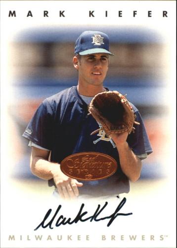 Photo of 1996 Leaf Signature Autographs #126 Mark Kiefer