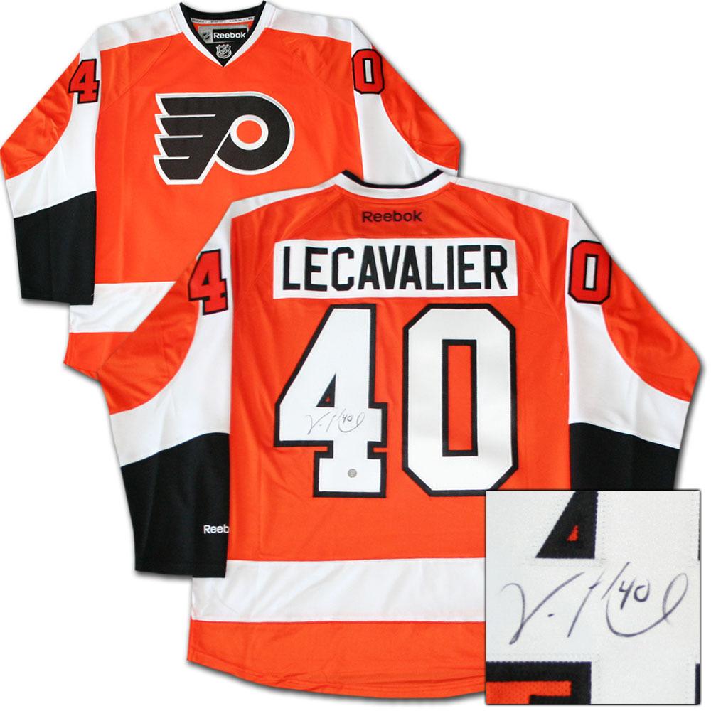 Vincent Lecavalier Autographed Philadelphia Flyers Jersey