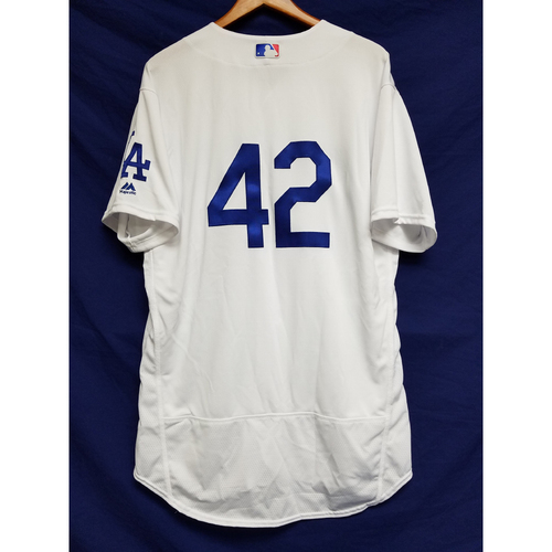 "Photo of Tim Hyers Team-Issued ""42"" Jersey"