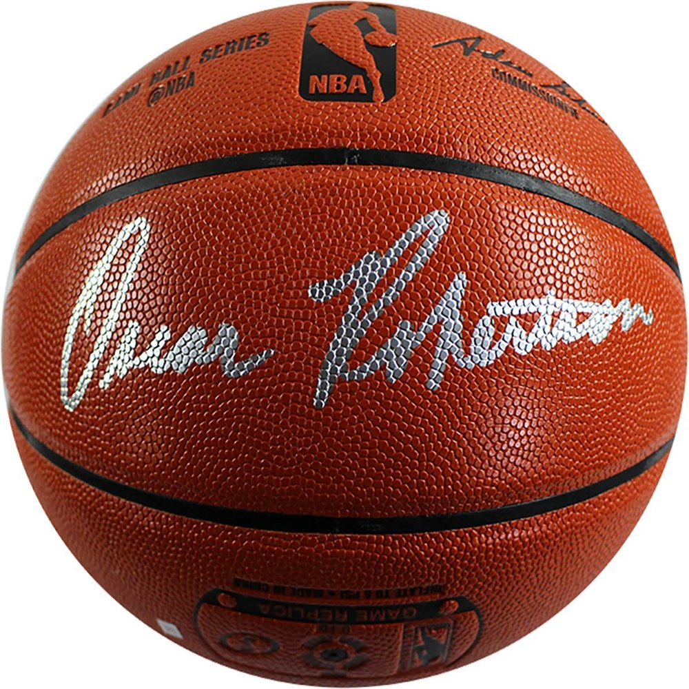 Oscar Robertson Signed I/O Orange Basketball