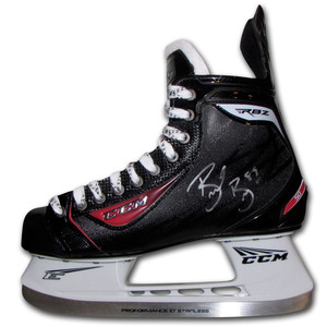 Brent Burns Autographed CCM Hockey Skate (San Jose Sharks)