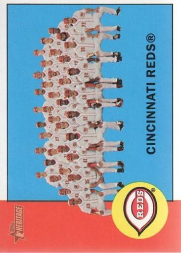 Photo of 2012 Topps Heritage #63 Cincinnati Reds TC