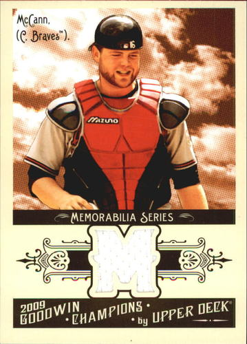 Photo of 2009 Upper Deck Goodwin Champions Memorabilia #BM Brian McCann
