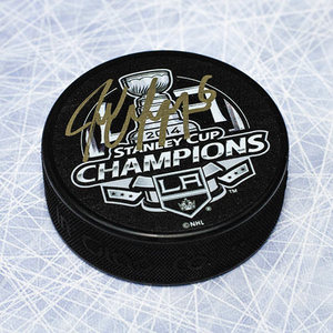 Jake Muzzin Los Angles Kings Autographed 2014 Stanley Cup Hockey Puck