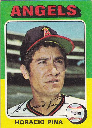 Photo of 1975 Topps #139 Horacio Pina