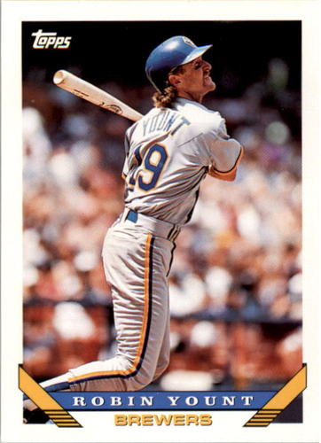Photo of 1993 Topps #1 Robin Yount