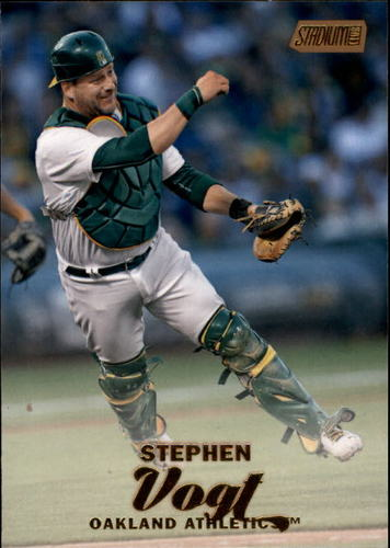 Photo of 2017 Stadium Club Gold Foil #258 Stephen Vogt