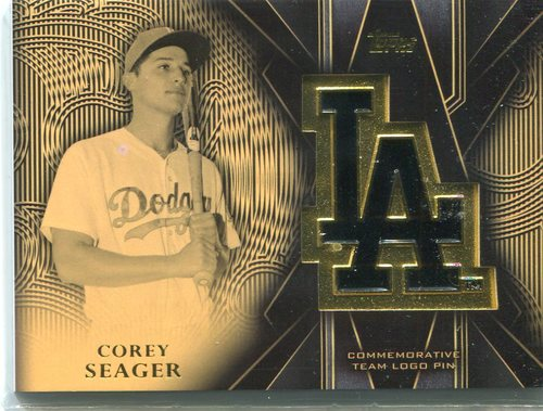 Photo of 2016 Topps Team Logo Pins  Corey Seager