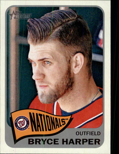 Photo of 2014 Topps Heritage #400A Bryce Harper