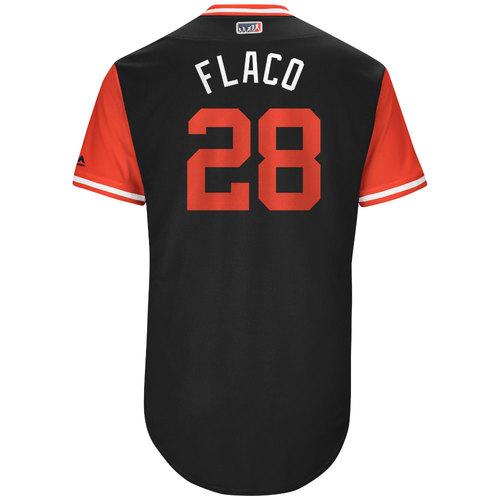 "Photo of J.D. ""Flaco"" Martinez Arizona Diamondbacks Game-Used Players Weekend Jersey"