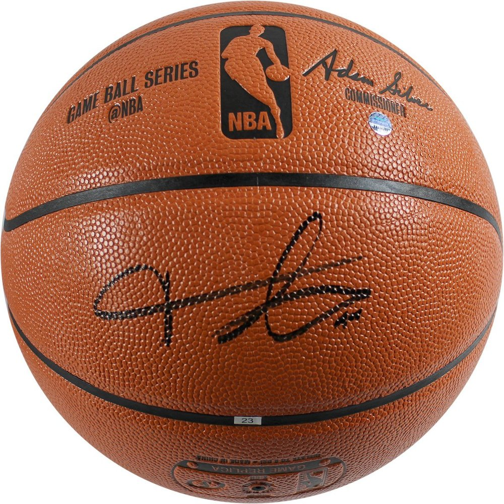 Frank Ntilikina Signed I/O Basketball
