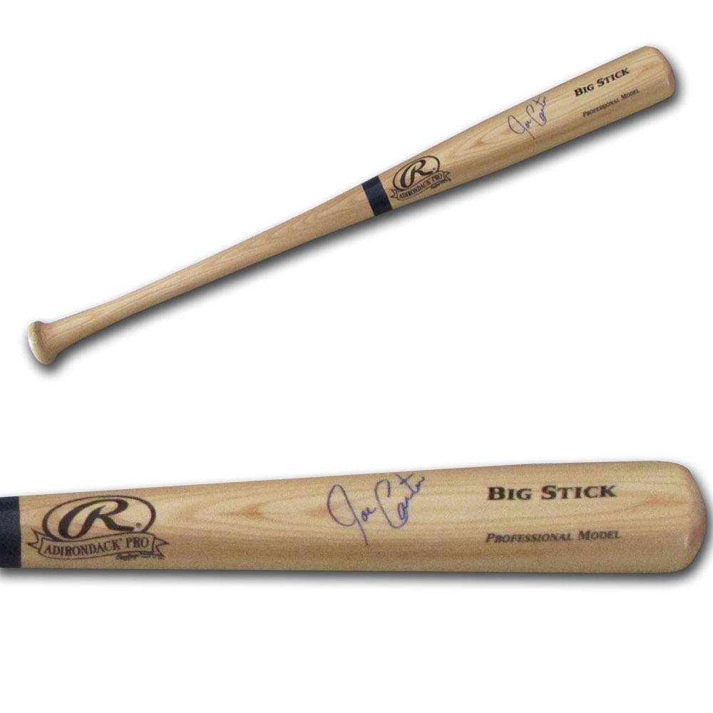 Joe Carter Autographed Rawlings Bat