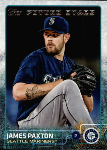 Photo of 2015 Topps #385 James Paxton FS