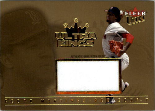 Photo of 2005 Ultra Kings Jersey Gold #PM Pedro Martinez K