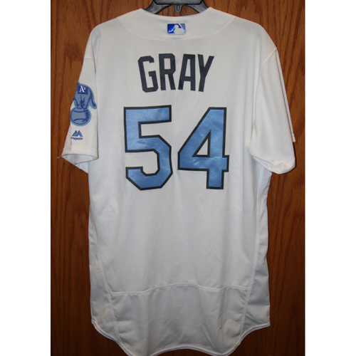 Photo of Sonny Gray Game-Used 2016 Father's Day Jersey