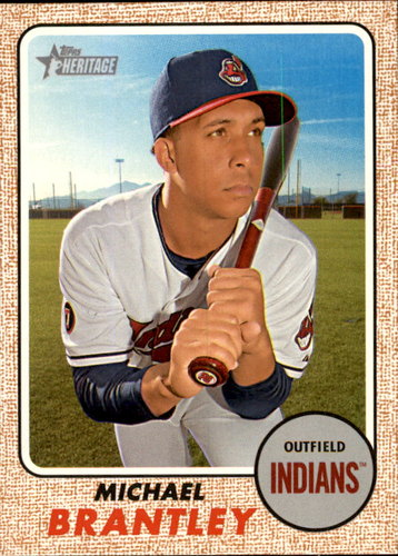 Photo of 2017 Topps Heritage #269 Michael Brantley