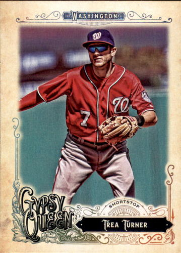 Photo of 2017 Topps Gypsy Queen #16 Trea Turner