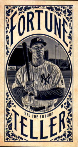 Photo of 2017 Topps Gypsy Queen Fortune Teller Mini #FTAJ Aaron Judge